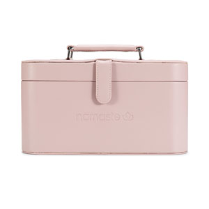Namaste Maker's Train Case Blush