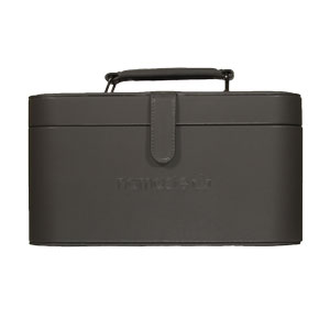 Namaste Knitter's Train Case Dark Grey