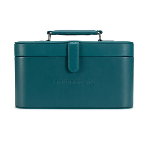 Namaste Knitter's Train Case Dark Teal