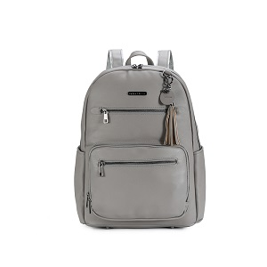 Namaste Knitter's Backpack Grey