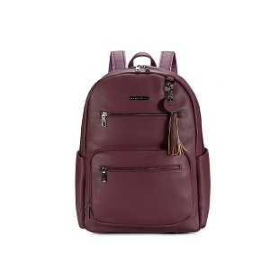 Namaste Knitter's Backpack Plum