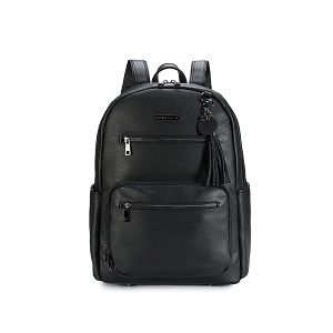 Namaste Knitter's Backpack Black