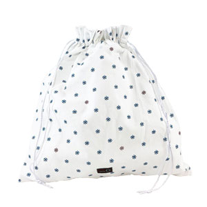 della Q Large Eden Cotton Pouch (119-1) Brooklyn