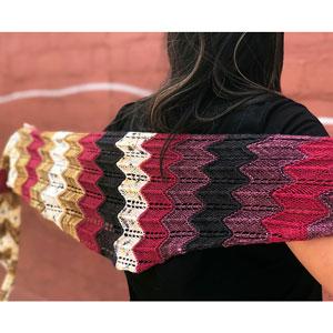 Lorna's Laces Lorna's Collaborations kits Groove Shawl Kit