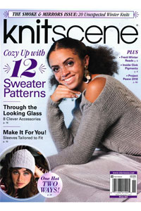 Interweave Press Knitscene Magazine '18 Winter