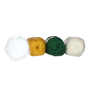 Jimmy Beans Wool Blitz Beanie Football Hat kits Green Bay