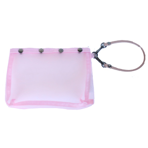 Namaste Oh Snap Breast Cancer Pink - Wristlet
