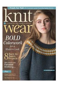 Interweave Press Knit.Wear '18 Fall/Winter