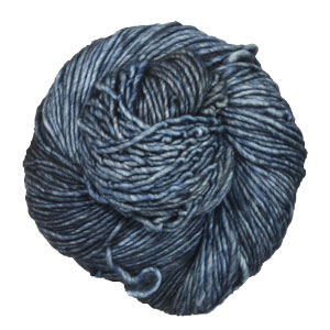 Malabrigo Washted yarn 845 Cirrus Gray
