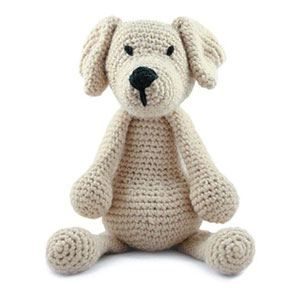 Toft Amigurumi Crochet Kit kits Eleanor the Labrador