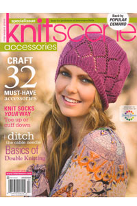 Interweave Press Knitscene Magazine '18 Accessories Holiday Special Issue