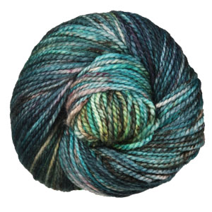Madelinetosh Farm Twist yarn Jaded Dreams