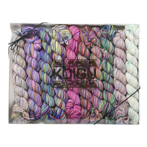 Koigu Pencil Box yarn Silent Purple (Ships Late Nov)