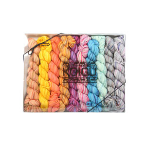 Koigu Pencil Box yarn Dragonfly