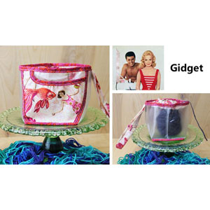 Chicken Boots Clear Wristlet Gidget