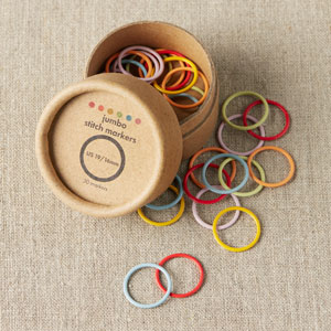 cocoknits Maker's Keep Accessories Ring Stitch Markers - Multicolored Jumbo
