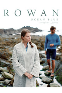 Rowan Pattern Books Ocean Blue