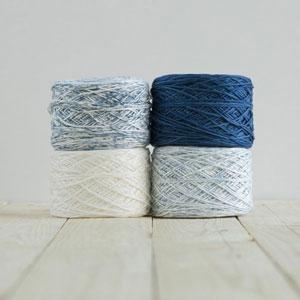 Feza Yarns Baby Gradient yarn 504 Denim