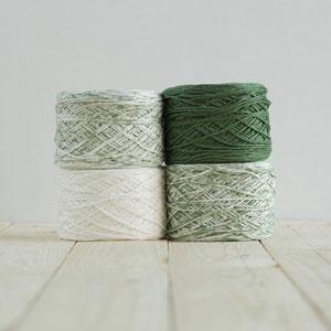 Feza Yarns Baby Gradient yarn 509 Forest Green