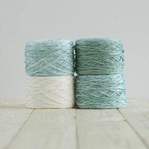 Feza Yarns Baby Gradient yarn 512 Teal