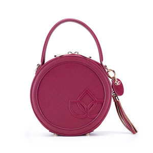 Namaste Maker's Circle Bag Raspberry
