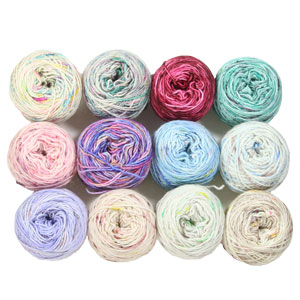 Jimmy Beans Wool Shawl Club A-La-Carte Kits kits '18 - Bespeckled