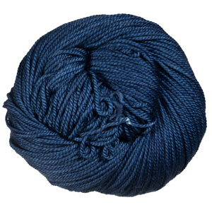 Magpie Fibers Swanky DK yarn Bell Bottom Blues
