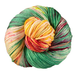 Madelinetosh Tosh Vintage yarn '19 September - Totally Tulips