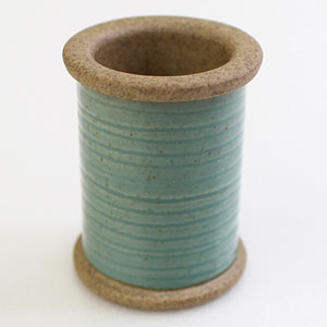 Cohana Sewing Notions Magnetic Spool - Hasami Wire - Green