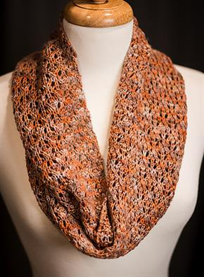 English Mesh Scarf kit of the month