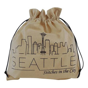 della Q Stitches In The City Collectable Project Bags - 117-1 Seattle