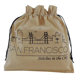 della Q Stitches In The City Collectable Project Bags - 117-1 San Francisco