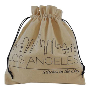 della Q Stitches In The City Collectable Project Bags - 117-1 Los Angeles