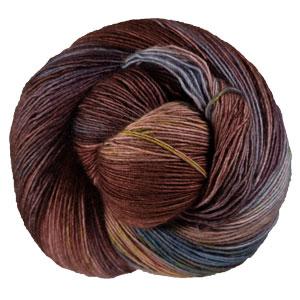 Hedgehog Fibres Skinny Singles yarn Plume