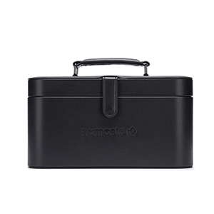 Namaste Maker's Train Case Black