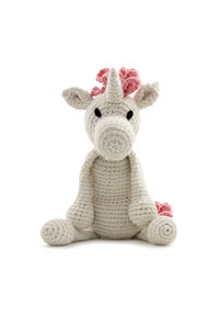 Toft Amigurumi Crochet Kit kits Chablis the Unicorn