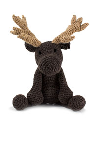 Toft Amigurumi Crochet Kit kits Logan the Moose