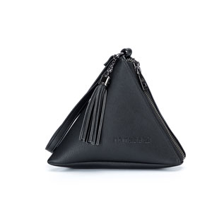 Namaste Maker's Geometry Zip Mini Pyramid Zip Mini - Black