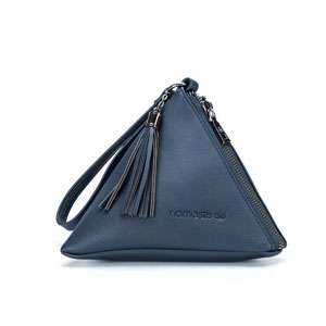 Namaste Maker's Geometry Zip Mini Pyramid Zip Mini - Navy