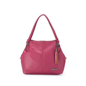 Namaste Maker's Shoulder Bag Raspberry