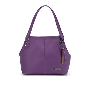 Namaste Maker's Shoulder Bag Purple