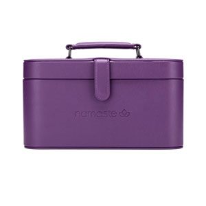 Namaste Maker's Train Case Purple