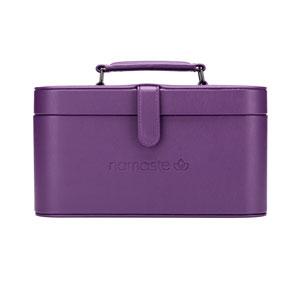 Namaste Maker's Train Case Purple