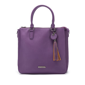 Namaste Maker's Satchel Purple (Ships Late Nov)