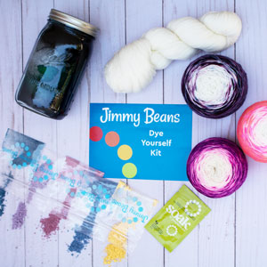 Jimmy Beans Wool Craft Class Kit kits Dye Yourself