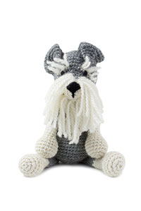 Toft Amigurumi Crochet Kit kits Romeo the Schnauzer
