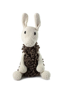 Toft Amigurumi Crochet Kit kits Archie the Llama