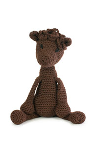 Toft Amigurumi Crochet Kit kits Seamus the Alpaca