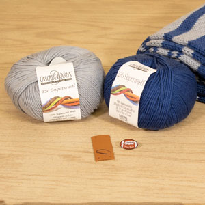 Jimmy Beans Wool Football Scarf Starter Kit kits Dallas