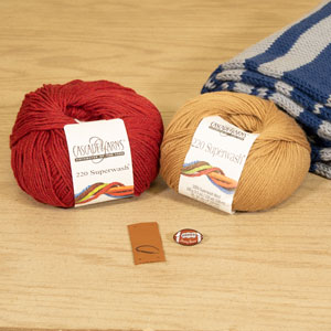 Jimmy Beans Wool Football Scarf Starter Kit kits San Francisco